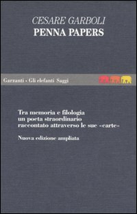 Libro Penna papers Cesare Garboli
