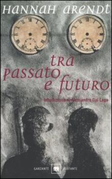 Tra passato e futuro - Hannah Arendt - copertina