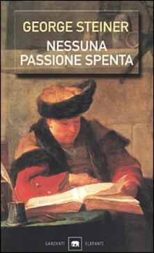 Squillogame.it Nessuna passione spenta. Saggi (1978-1996) Image