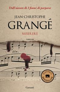 Libro Miserere Jean-Christophe Grangé