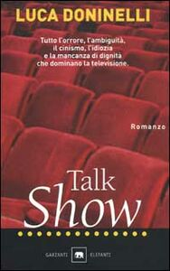 Libro Talk show Luca Doninelli