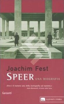 Antondemarirreguera.es Speer. Una biografia Image