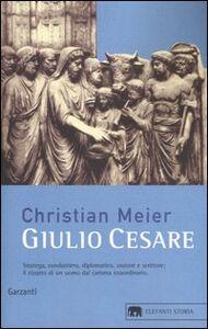 Libro Giulio Cesare Christian Meier