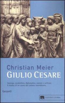 Giulio Cesare - Christian Meier - copertina