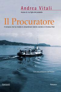 Libro Il procuratore Andrea Vitali