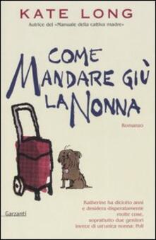 Letterarioprimopiano.it Come mandare giù la nonna Image