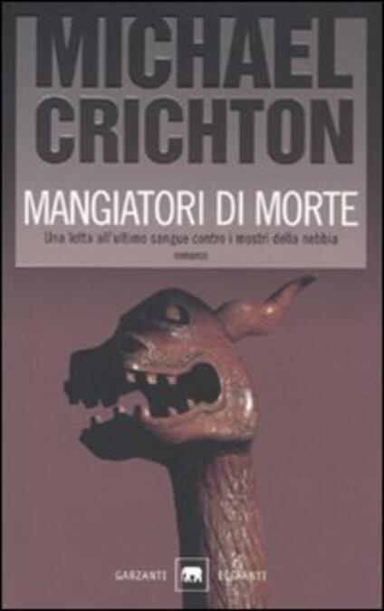Mangiatori di morte - Michael Crichton - copertina