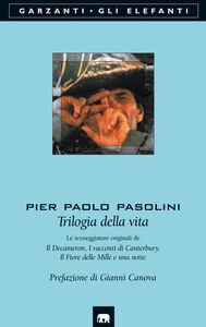 Libro Trilogia della vita Pier Paolo Pasolini