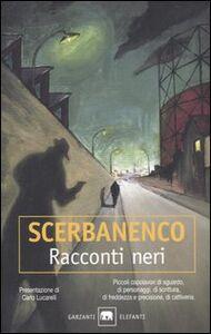 Libro Racconti neri Giorgio Scerbanenco