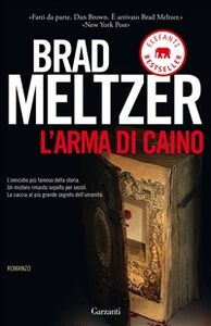 Libro L' arma di Caino Brad Meltzer