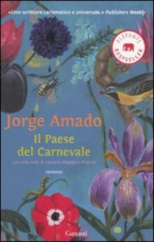 Il paese del carnevale - Jorge Amado - copertina