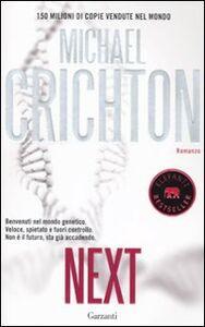 Libro Next Michael Crichton