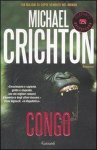 Foto Cover di Congo, Libro di Michael Crichton, edito da Garzanti Libri