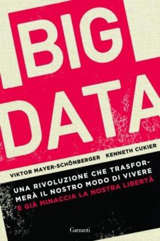 Big data. Una rivoluzione che trasformerà il nostro modo di vivere e già minaccia la nostra libertà - Viktor Mayer-Schönberger,Kenneth N. Cukier - copertina