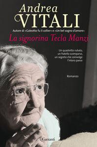 Libro La signorina Tecla Manzi Andrea Vitali