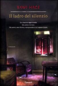 Il ladro del silenzio - Rawi Hage - copertina
