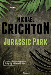 Jurassic park - Michael Crichton - copertina