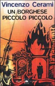 Un borghese piccolo piccolo - Vincenzo Cerami - copertina