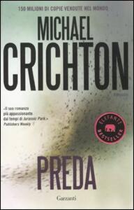 Preda - Michael Crichton - copertina