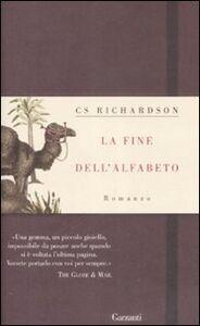 Libro La fine dell'alfabeto C. S. Richardson