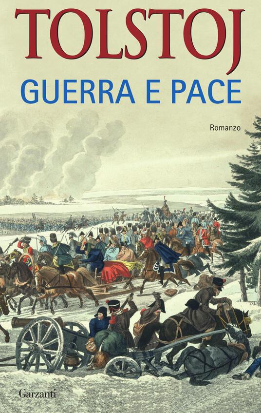 Guerra e pace - Lev Tolstoj - copertina