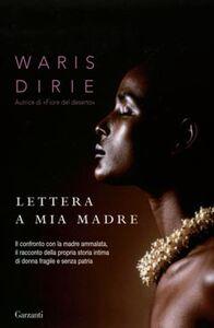 Libro Lettera a mia madre Waris Dirie
