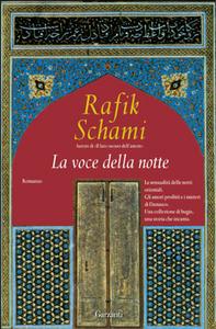 Libro La voce della notte Rafik Schami