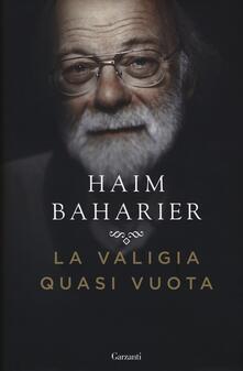 La valigia quasi vuota - Haim Baharier - copertina