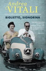 Libro Biglietto, signorina Andrea Vitali