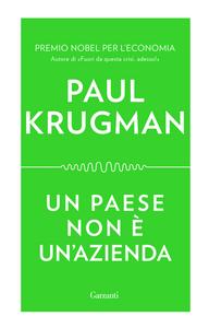Libro Un paese non è un'azienda Paul R. Krugman