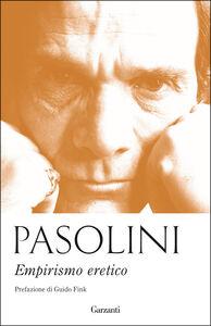 Libro Empirismo eretico Pier Paolo Pasolini
