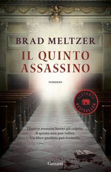 Il quinto assassino - Brad Meltzer - copertina