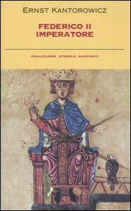 Libro Federico II imperatore Ernst H. Kantorowicz