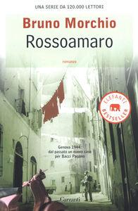 Libro Rossoamaro Bruno Morchio