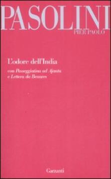 L' odore dell'India-Passeggiatina ad Ajanta-Lettera da Benares - Pier Paolo Pasolini - copertina