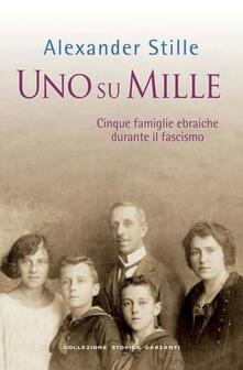Amatigota.it Uno su mille. Cinque famiglie ebraiche durante il fascismo Image