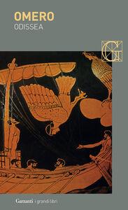 Foto Cover di Odissea. Versione in prosa, Libro di Omero, edito da Garzanti Libri