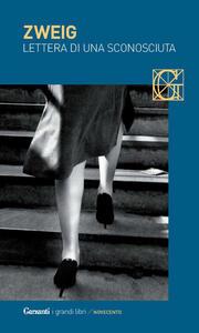 Lettera di una sconosciuta - Stefan Zweig - copertina