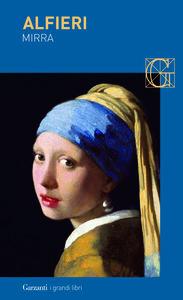 Libro Mirra Vittorio Alfieri
