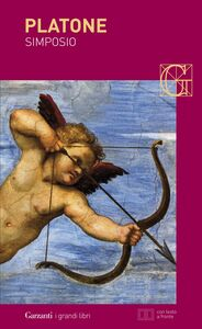 Foto Cover di Simposio. Testo originale a fronte, Libro di Platone, edito da Garzanti Libri