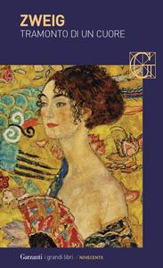 Libro Tramonto di un cuore Stefan Zweig