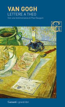 Premioquesti.it Lettere a Theo. Con una testimonianza di Paul Gauguin Image