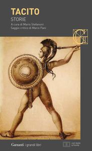 Libro Storie. Testo latino a fronte Publio Cornelio Tacito