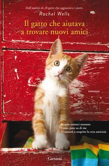 Il gatto che aiutava a trovare nuovi amici - Elisabetta Valdrè,Rachel Wells - ebook