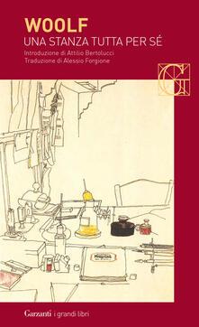 Una stanza tutta per sé - Virginia Woolf - copertina