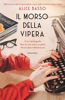Il morso della vipera - Alice Basso - ebook