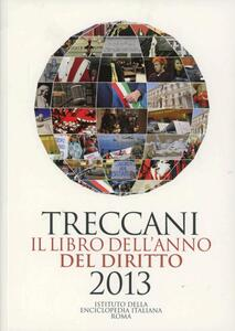 Treccani. Il libro dell'anno del diritto 2013 - copertina