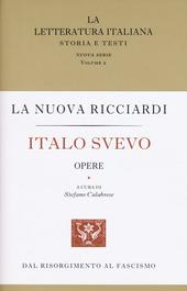 Italo Svevo. Opere