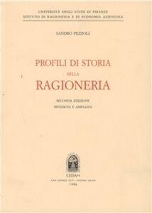 Libro Profili di storia della ragioneria Sandro Pezzoli