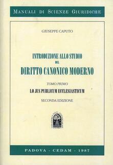 Winniearcher.com Introduzione allo studio del diritto canonico moderno. Vol. 1: Lo jus publicum ecclesiasticum. Image